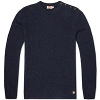 Armor Lux 73517 Heritage Crew Knit Blue
