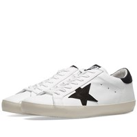 Golden Goose Deluxe Brand Superstar Clean Leather Sneaker White