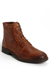 Pikolinos 'Pamplona' Cap Toe Boot Medium Brown