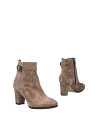 Mally Ankle Boots Light Brown