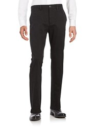 Black Brown Classic Fit Chino Pants Light Tan