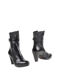 Pas De Rouge Ankle Boots Black