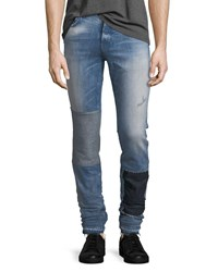 Hudson Sartor Slouchy Released Hem Skinny Jeans In Wasted Years