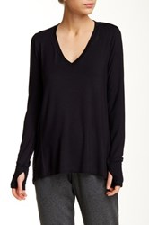 Central Park West The Mey Long Sleeve Shirt Black