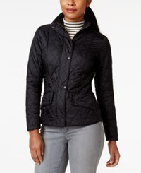 Barbour Stand Collar Quilted Coat