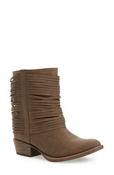 Coconuts By Matisse Women's 'Saint' Boot Brown Faux Leather