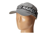 Mostly Heard Rarely Seen Zipper 3M Reflective Convertible Visor Hat Silver 3M