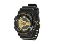 G Shock X Large Combi Ga110 Black Gold Digital Watches