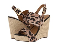 Report Signature Cass Leopard Women's Wedge Shoes Animal Print