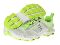 On Cloudracer Silver Lime Men's Running Shoes Beige