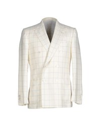 Kiton Suits And Jackets Blazers Men White