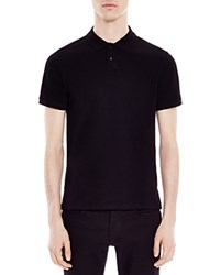 Sandro Knit Slim Fit Polo Black