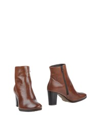 Mally Ankle Boots Cocoa