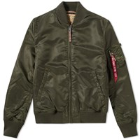 Alpha Industries Ma 1 Vf 59 Flight Jacket Green