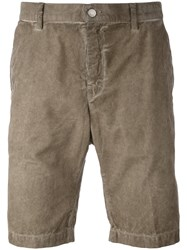 Massimo Alba Corduroy Shorts Men Cotton 50 Nude Neutrals