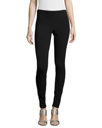 Lafayette 148 New York Skinny Fit Leggings Black