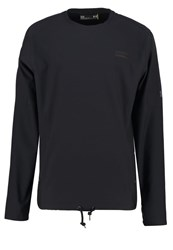 Under Armour Courtside Long Sleeved Top Black Black