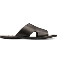 Kurt Geiger Karl Leather Sandals Black