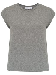 Spacenk Nk Top With Back Knot Detail Grey