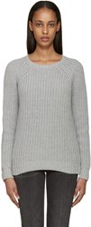 Earnest Sewn Grey Tourmaline Sweater