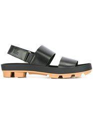 Gucci Wide Strap Sandals Black