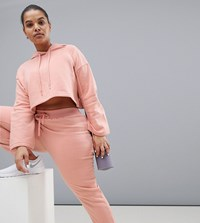 South Beach Plus Joggers In Blush Pink