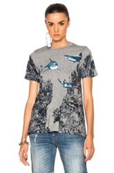 Stella Mccartney Underwater T Shirt In Abstract Gray Abstract Gray