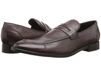 Fitzwell Momo Burgundy Tequila Leather Men's Dress Flat Shoes Brown