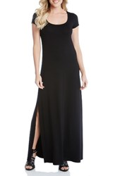 Karen Kane Women's Cap Sleeve Jersey Maxi Dress