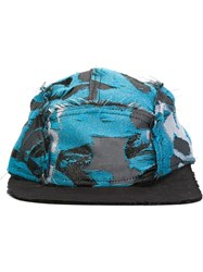 Liam Hodges Jacquard 5 Panel Cap Blue