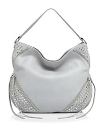 She Lo Rise Above Studded Hobo Grey