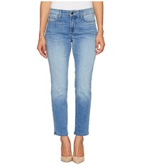 Nydj Petite Alina Convertible Ankle In Pampelonne Pampelonne Women's Casual Pants Blue