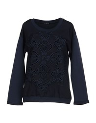 Fornarina Sweatshirts Dark Blue