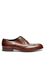 Fratelli Rossetti Liverpool Leather Oxford Shoes Brown