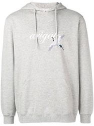 Axel Arigato Tori Embroidered Hoodie Grey