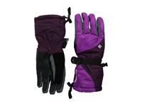 Columbia Whirlibird Iii Glove Bright Plum Plaid Print Purple Dahlia Extreme Cold Weather Gloves