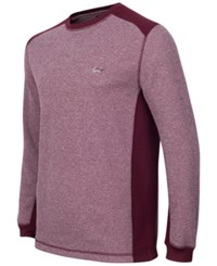 Greg Norman For Tasso Elba Men's Thermal Shirt Only At Macy's Port Heather