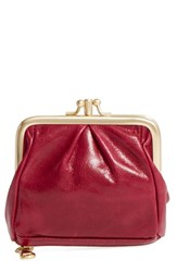 Hobo Women's 'Minnie' Coin Purse Red