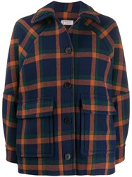 Alberto Biani Oversized Check Jacket 60