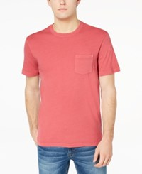 Club Room Men's Heathered T Shirt Created For Macy's Tomato
