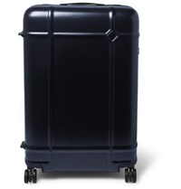Fabbrica Pelletterie Milano Globe Spinner 76Cm Polycarbonate Suitcase Navy