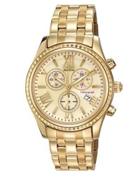 Citizen 40Mm Chronograph Bracelet Watch Champagne