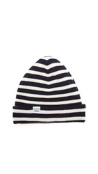 Norse Projects Classic Normandy Beanie Navy