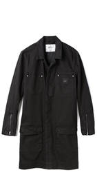 Cheap Monday Denim Coat Rinse Black