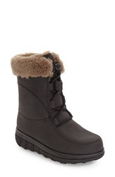 Fitflop Women's Loaff Waterproof Genuine Shearling Boot