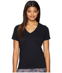 Tasc Performance St. Charles V Neck Short Sleeve Tee Black T Shirt