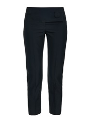 Balenciaga Button Front Cropped Trousers
