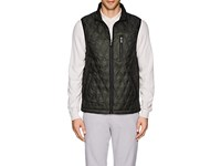 Rainforest Heated Diamond Quilted Vest Green