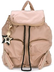 See By Chloe 'Joyrider' Backpack Nude Neutrals