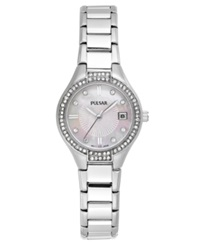 Pulsar Watch Women's Stainless Steel Bracelet 26Mm Ph7289 Women's Shoes
